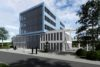 Blue Sight – change in workplace culture - Feng Shui Neubau im Science Park III - Visualisierung West