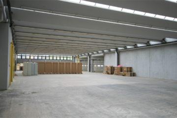 1.100 m² Lagerfläche mit Rampenandienung – Anschluß A 8, 73347 Mühlhausen, Halle